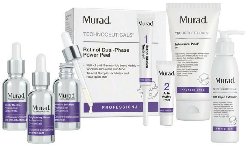 Christine Dufault cosmetics - murad-peel