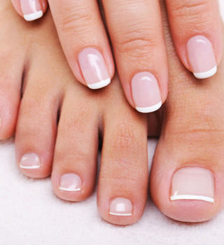 Christine Dufault cosmetics - French-Manicure-and-Pedicure