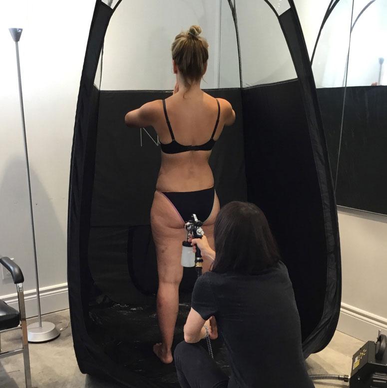 Christine Dufault cosmetics - Spray Tan
